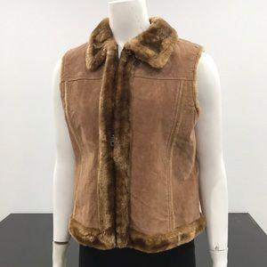 D'Carlo Brown Women's Sleeveless Vest